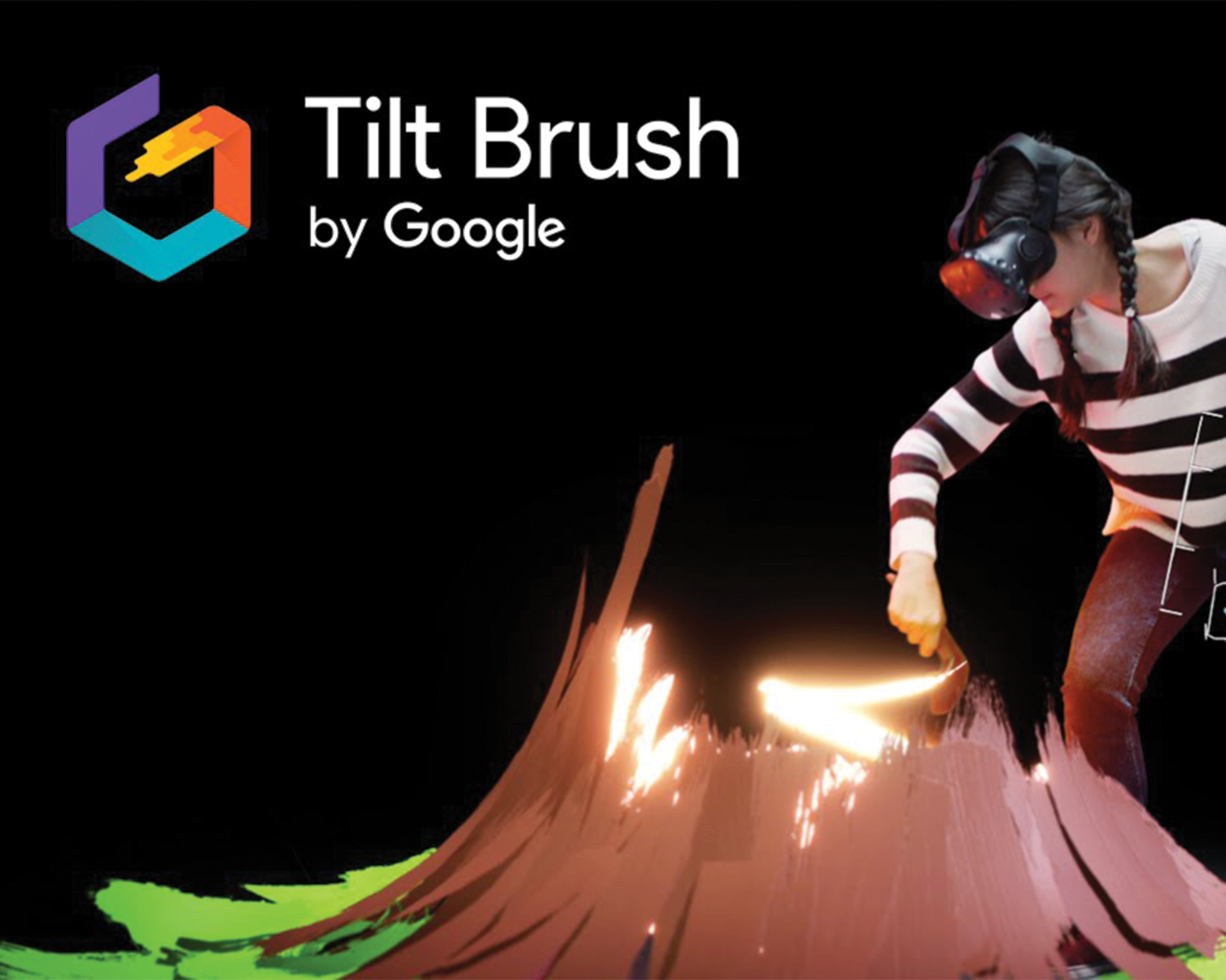Tilt Brush Virtual Reality game promotional picture